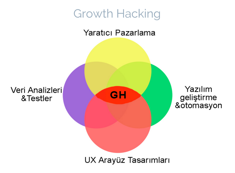 Growth Hacking Grafik Anlatım